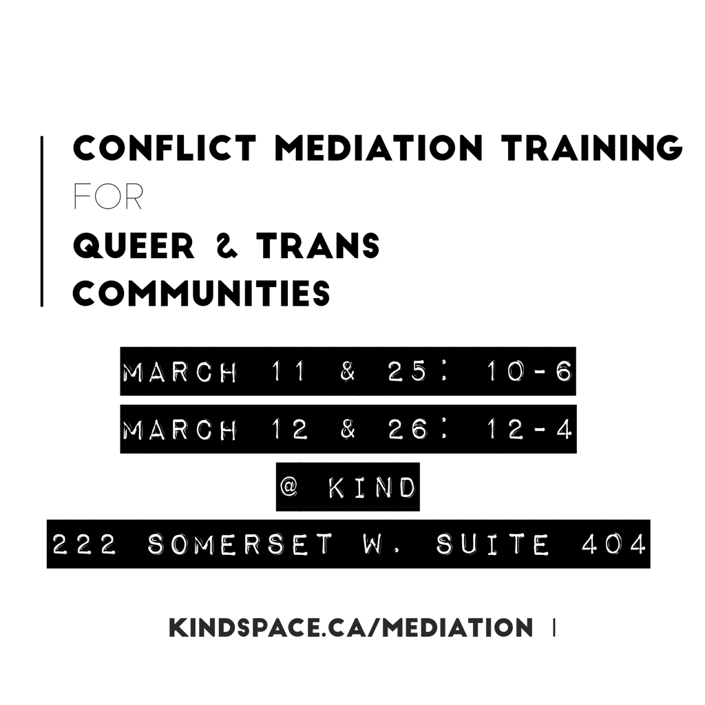 Conflict Mediation Training