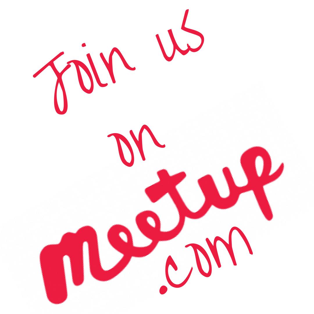 Meet us on Meetup