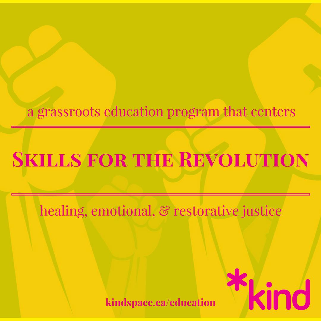 Skills for the Revolution